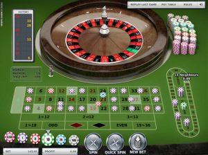 Roulette jeux casino en ligne